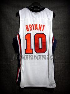 Chuck Daly Tribute Barcelona 2012 Pre-Olympic USA Basketball Kobe Bryant Retro Jersey - Back