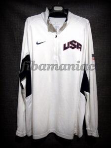 London 2012 Olympic Games USA Basketball Kobe Bryant Warm Up - Front