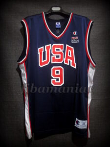 Sydney 2000 Olympic Games USA Basketball Vince Carter Jersey - Front