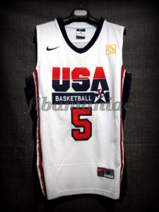 Chuck Daly Tribute Barcelona 2012 Pre-Olympic USA Basketball Kevin Durant Hyper Elite Retro Jersey - Front