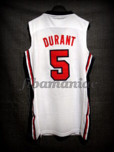 Chuck Daly Tribute Barcelona 2012 Pre-Olympic USA Basketball Kevin Durant Hyper Elite Retro Jersey - Back