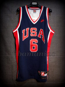 Los Angeles 1984 Olympic Games USA Basketball Patrick Ewing Jersey - Front