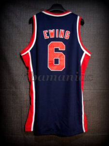 Los Angeles 1984 Olympic Games USA Basketball Patrick Ewing Jersey - Back