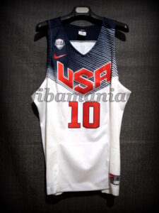 Spain 2014 World Cup MVP USA Basketball Kyrie Irving Jersey - Front