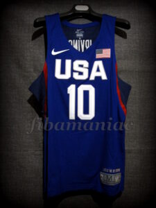Rio 2016 Olympic Games USA Basketball Kyrie Irving Jersey - Front