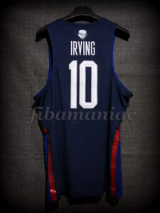 Rio 2016 Olympic Games USA Basketball Kyrie Irving Jersey - Back
