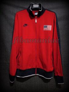 London 2012 Olympic Games USA Basketball Alternative Jacket - Front