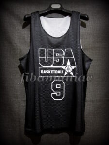 1992 USA Basketball Montecarlo Practice Special Ed. Jersey - Front