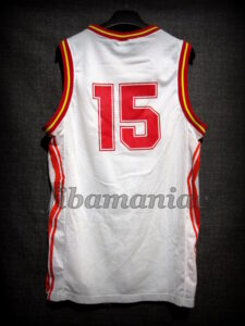 "1993 Eurobasket Spain Juan Antonio San Epifanio ""Epi"" Jersey - Back"