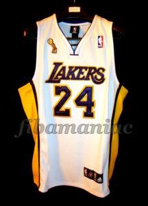 2009 NBA Finals MVP Los Angeles Lakers Kobe Bryant Jersey - Front