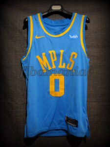 2018 NBA All-Rookie First Team Los Angeles Lakers Kyle Kuzma Classic Jersey - Front