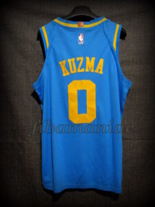 2018 NBA All-Rookie First Team Los Angeles Lakers Kyle Kuzma Classic Jersey - Back