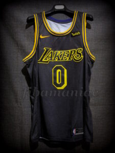 2018 NBA All-Rookie First Team Los Angeles Lakers Kyle Kuzma City Ed. Jersey - Front