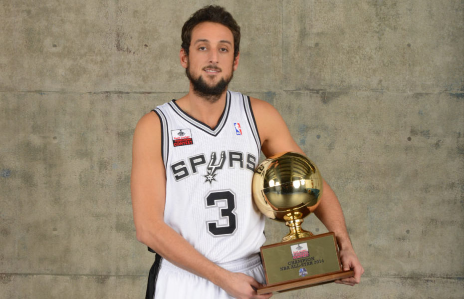 In the 2007 NBA draft Marco was selected by the Golden State Warriors with the 18th overall pick. Since then Belinelli had a solid career playing for 9 NBA teams. He completed his best season with the Spurs winning the 2014 NBA 3-Point Contest and the 2014 NBA Finals