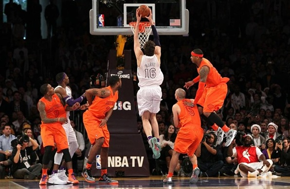 I saw that game with good friends at home and the match responded to expectations. Gasol got the definitive scoring with a few seconds left. Good memories after all