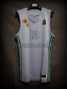 2011 Euroleague Season & Final Four MVP Panathinaikos Athens Dimitris Diamantidis Alternative Jersey - Front
