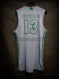 2011 Euroleague Season & Final Four MVP Panathinaikos Athens Dimitris Diamantidis Alternative Jersey - Back