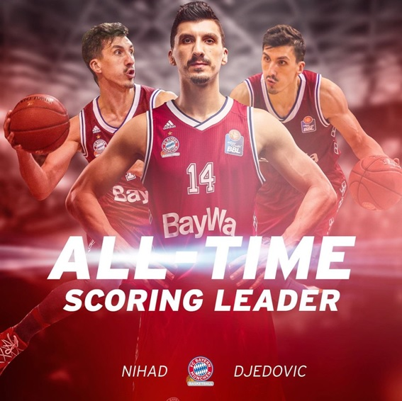 Currently Djedovic is the all-time scoring leader of Bayern Munich
