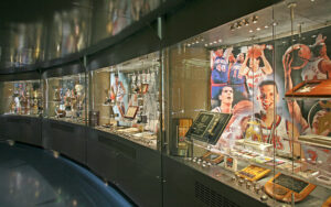 Inside the Drazen Petrovic museum