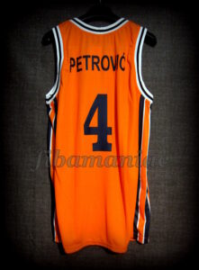 1979/1984 Sibenka Sibenik Drazen Petrovic Jersey - Back