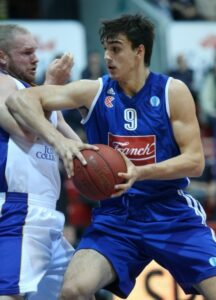 Saric in action with a similar jersey. Dario was named 2014 Adriatic League MVP and 2014 Adriatic League Final Four MVP