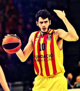 Álex Abrines or Mario Hezonja were enrolled in the team but they never played. A girl sold me the jersey so maybe the jersey was worn in some U18/U16 women team