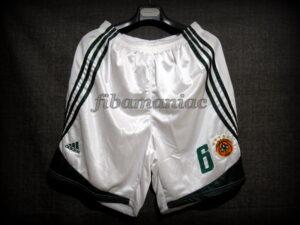 2009 European Triple Crown Panathinaikos Athens Vassilis Spanoulis Shorts