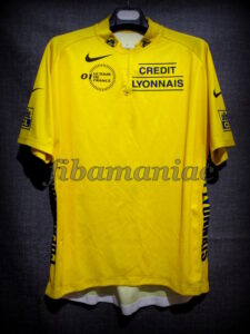 2001 Tour de France Lance Armstrong Leader's Maillot - Front