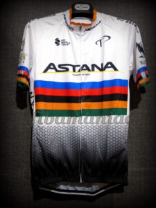 2018 Astana Cycling Team World Champion Special Ed. Maillot - Front