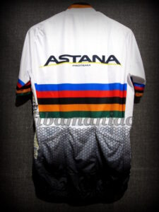 2018 Astana Cycling Team World Champion Special Ed. Maillot - Back