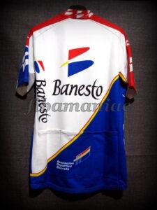 1995 Banesto Cycling Team Miguel Indurain Maillot - Back