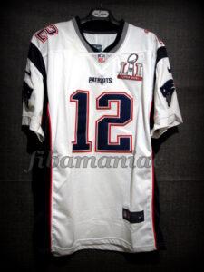 2016 NFL LI Super Bowl MVP New England Patriots Tom Brady Jersey - Front
