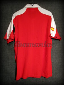 2010 Formula 1 season Ferrari Fernando Alonso Polo Shirt - Back