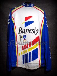 1993 Banesto Cycling Team Miguel Indurain Long Sleeve Maillot - Back