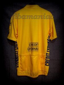 1995 Tour de France Miguel Indurain Leader's Maillot Back - Signed