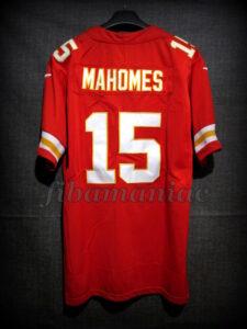 2019 NFL LIV Super Bowl MVP Kansas City Chiefs Patrick Mahomes Jersey - Back