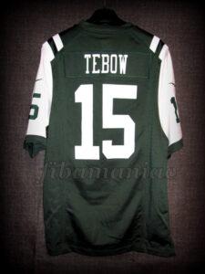 2012 NFL New York Jets Tim Tebow Jersey - Back